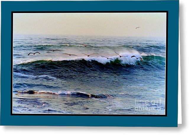 California Beaches Greeting Cards - Sunset Watch  Greeting Card by Kathy Bassett