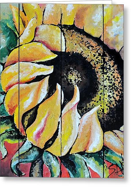 Sunspots Greeting Card by Amanda  Sanford