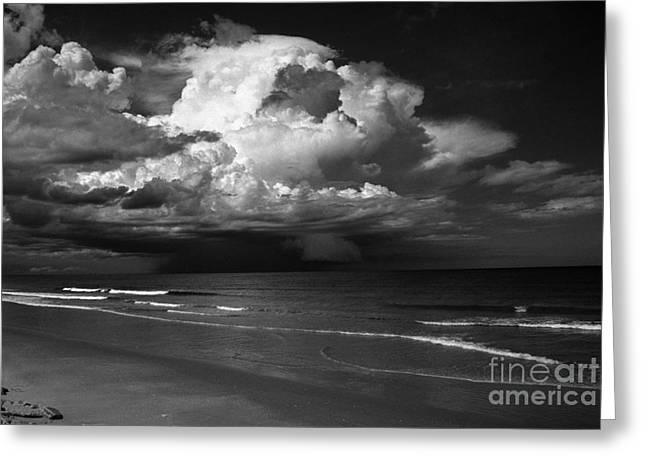 SUPER CELL STORM FLORIDA Greeting Card by Arni Katz