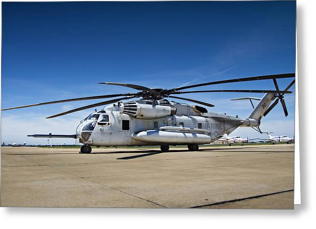 Sikorsky Greeting Cards - Super Stallion Greeting Card by Ricky Barnard