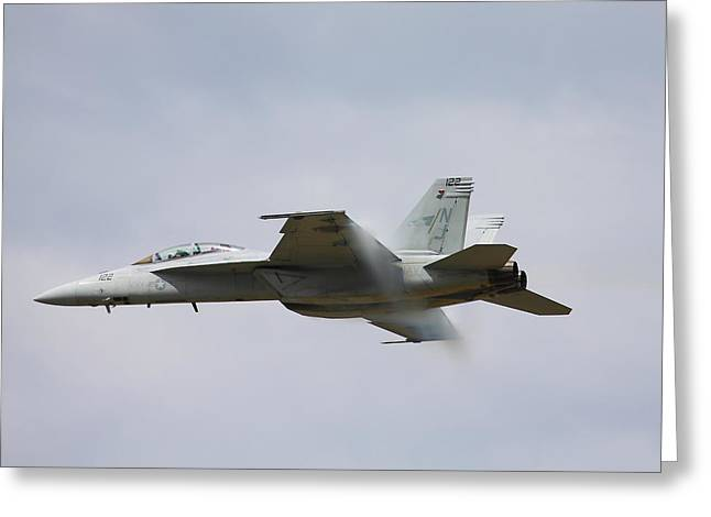 Kevin Schrader Greeting Cards - Superhornet Greeting Card by Kevin Schrader