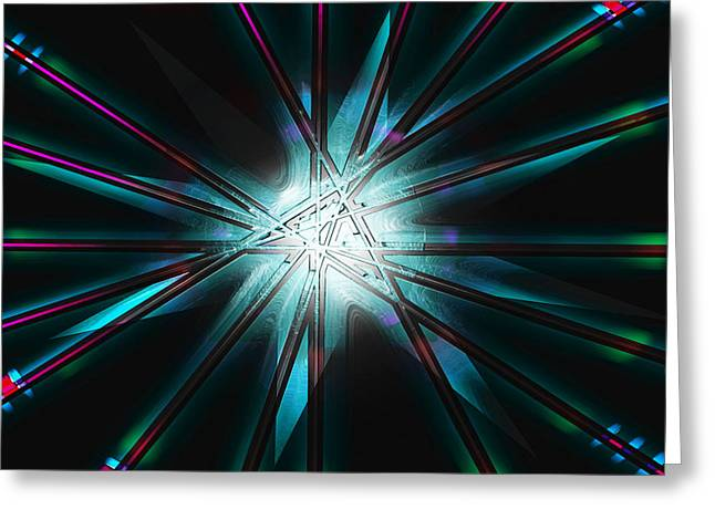 Levi Greeting Cards - Supernova Greeting Card by Levi Sullivan