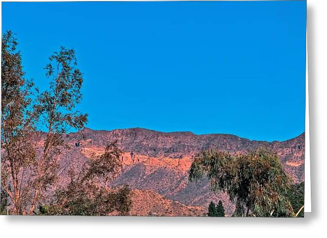 Steve Knievel Greeting Cards - Superstition Mountain Range Greeting Card by Steve Knievel