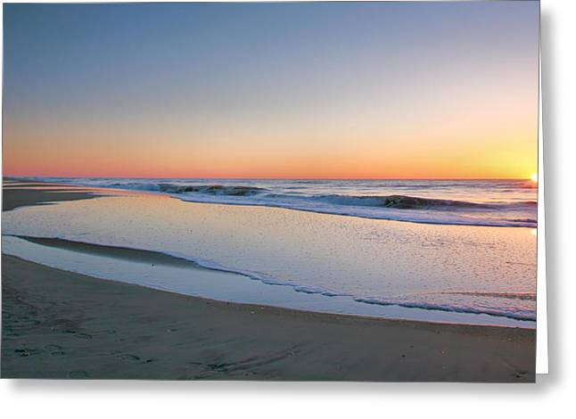 Surf And Sand II  Greeting Card by Steven Ainsworth