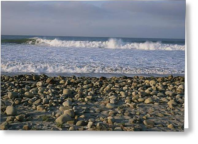 Surf At Ventura Point And Rocky Beach Greeting Card by Rich Reid