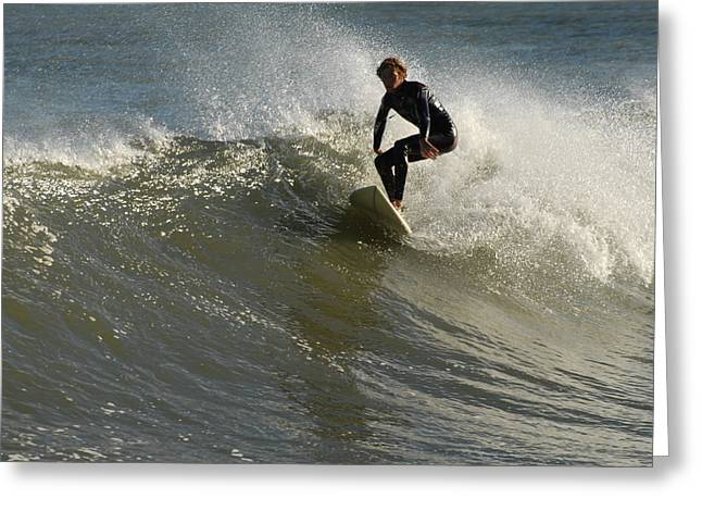 Take Over Greeting Cards - Surfing 100 Greeting Card by Joyce StJames