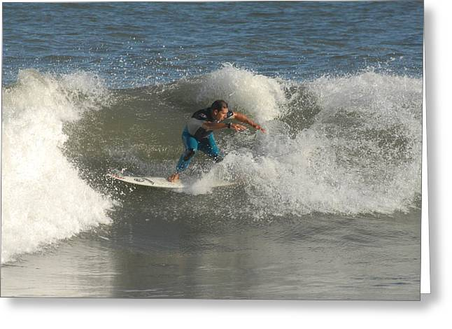 Take Over Greeting Cards - Surfing 102 Greeting Card by Joyce StJames