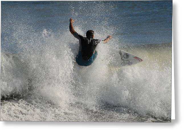 Take Over Greeting Cards - Surfing 103 Greeting Card by Joyce StJames