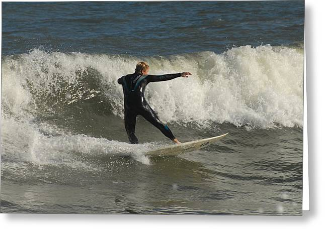 Take Over Greeting Cards - Surfing 104 Greeting Card by Joyce StJames