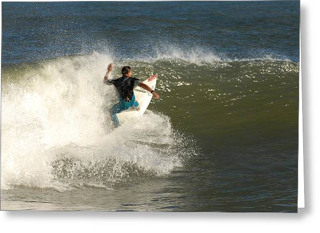 Take Over Greeting Cards - Surfing 105 Greeting Card by Joyce StJames