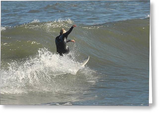 Take Over Greeting Cards - Surfing 106 Greeting Card by Joyce StJames