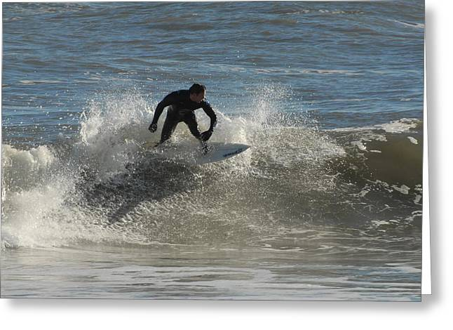 Take Over Greeting Cards - Surfing 107 Greeting Card by Joyce StJames