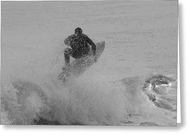 Surfing Photos Greeting Cards - Surfing 247 Greeting Card by Joyce StJames