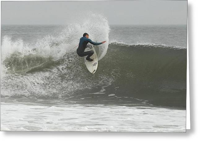 Surfing Photos Greeting Cards - Surfing 361 Greeting Card by Joyce StJames
