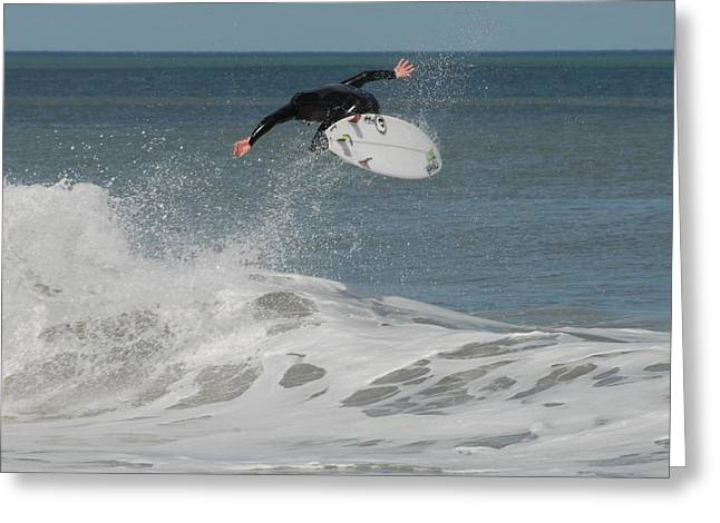Surfing Photos Greeting Cards - Surfing 394 Greeting Card by Joyce StJames