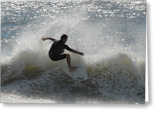 Take Over Greeting Cards - Surfing 401 Greeting Card by Joyce StJames
