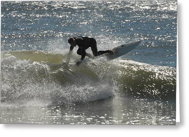 Take Over Greeting Cards - Surfing 402 Greeting Card by Joyce StJames