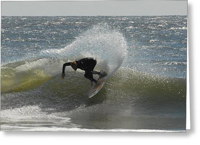 Take Over Greeting Cards - Surfing 403 Greeting Card by Joyce StJames