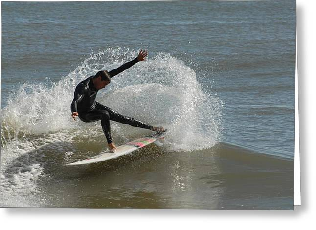 Take Over Greeting Cards - Surfing 407 Greeting Card by Joyce StJames