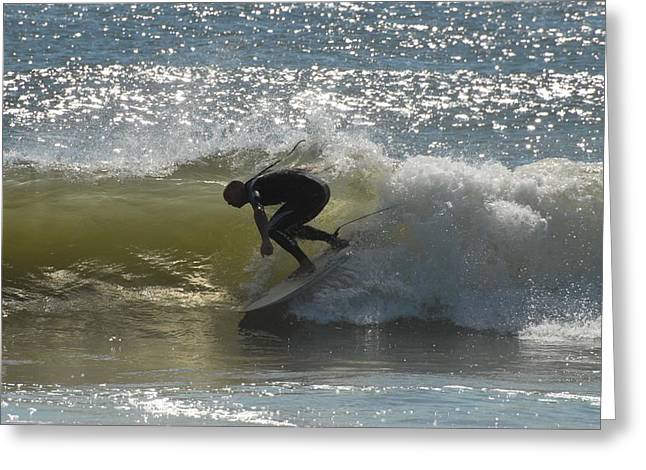 Take Over Greeting Cards - Surfing 413 Greeting Card by Joyce StJames