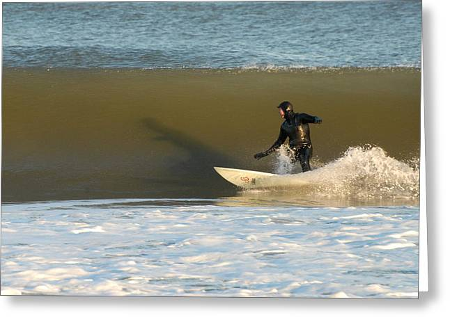Take Over Greeting Cards - Surfing 77 Greeting Card by Joyce StJames