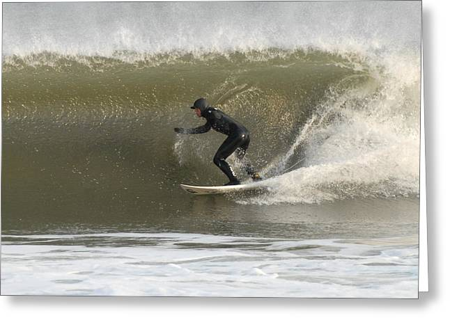 Take Over Greeting Cards - Surfing 83 Greeting Card by Joyce StJames