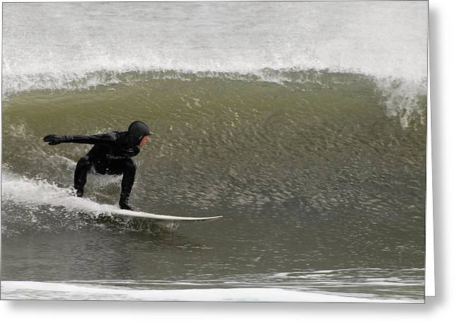 Take Over Greeting Cards - Surfing 84 Greeting Card by Joyce StJames