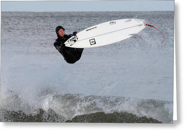 Take Over Greeting Cards - Surfing 85 Greeting Card by Joyce StJames