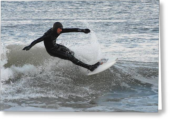 Take Over Greeting Cards - Surfing 86 Greeting Card by Joyce StJames