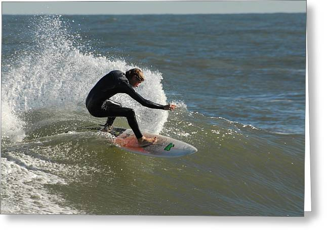 Take Over Greeting Cards - Surfing 88 Greeting Card by Joyce StJames