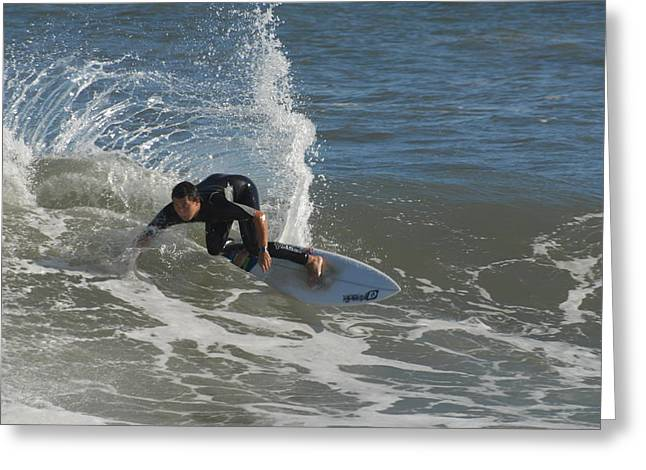 Take Over Greeting Cards - Surfing 91 Greeting Card by Joyce StJames