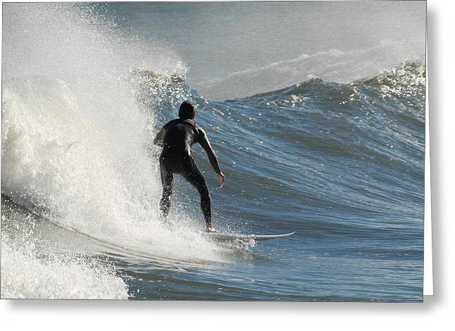 Take Over Greeting Cards - Surfing 93 Greeting Card by Joyce StJames