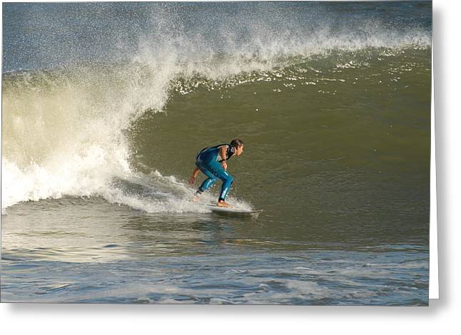 Take Over Greeting Cards - Surfing 99 Greeting Card by Joyce StJames