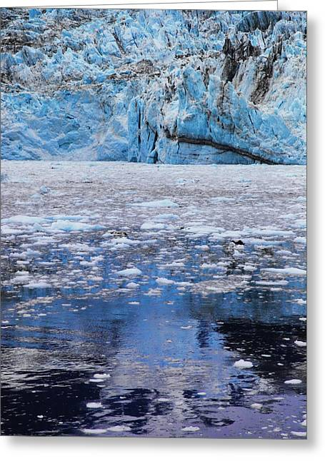Prince William Greeting Cards - Surprise Glacier Greeting Card by Rick Berk