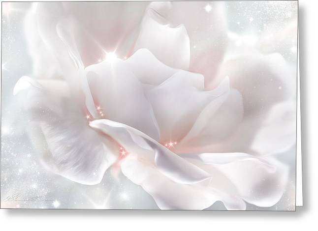Surprise Rose Greeting Card by Svetlana Sewell
