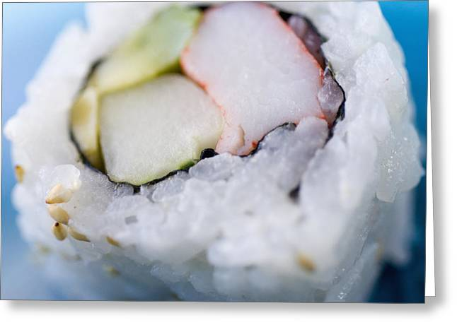From Seed Greeting Cards - Sushi Roll Greeting Card by Ray Laskowitz - Printscapes