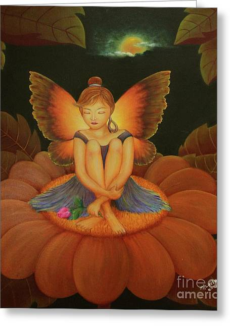 New York Fairy Tale Greeting Cards - Sweet Dream Greeting Card by Desiree Micaela