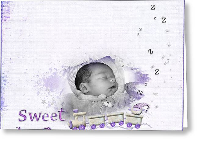 Sweet Dreams Greeting Card by Joanne Kocwin