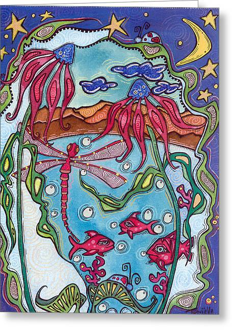 Sweet Dreams Greeting Card by Tanielle Childers