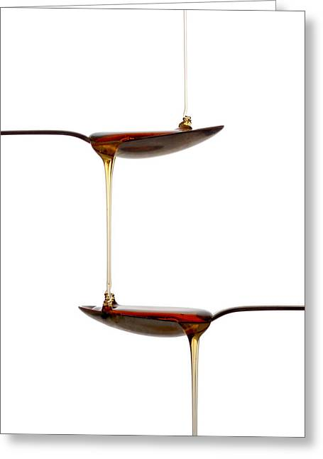 Drip Photographs Greeting Cards - Sweet Greeting Card by Gert Lavsen