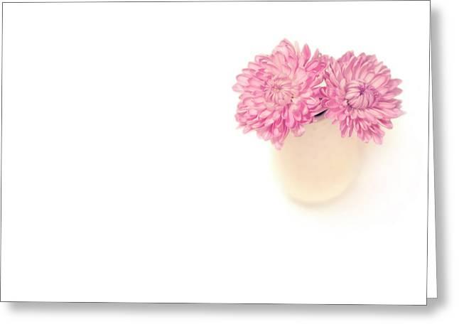 Aster Photographs Greeting Cards - Sweet Harmony Greeting Card by Evelina Kremsdorf