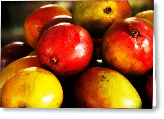 Mango Greeting Cards - Sweet Greeting Card by Isaac Richter