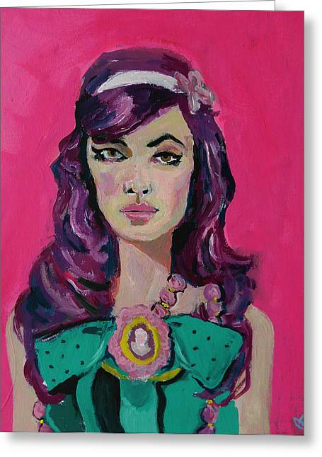 Adam Kissel Greeting Cards - Sweet Like Barbie Greeting Card by Adam Kissel