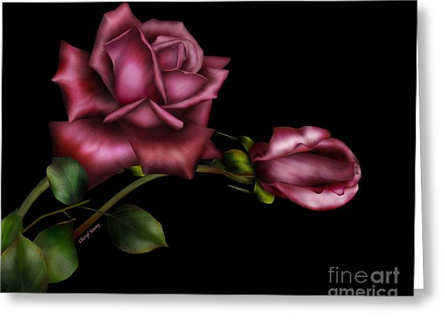Reception Room Greeting Cards - Sweet Perfection Greeting Card by Cheryl Young
