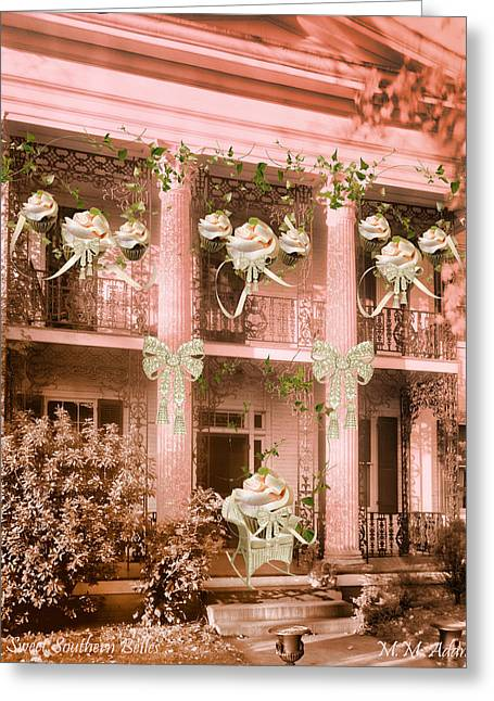 Southern Homes Greeting Cards - Sweet Southern Belles Greeting Card by Marcie  Adams