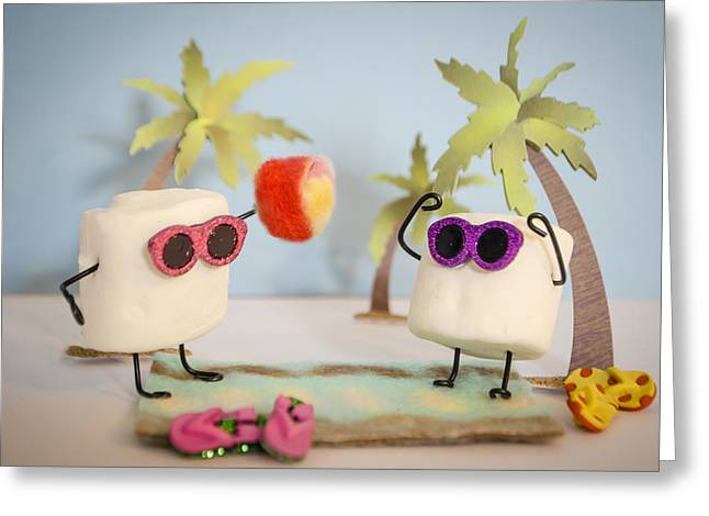 Sweet Vacation Greeting Card by Heather Applegate
