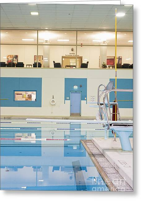 Recreational Pool Greeting Cards - Swimming Pool Greeting Card by Andersen Ross