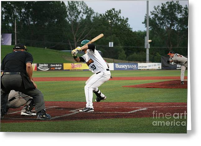 Swing Batter Greeting Card by Roger Look