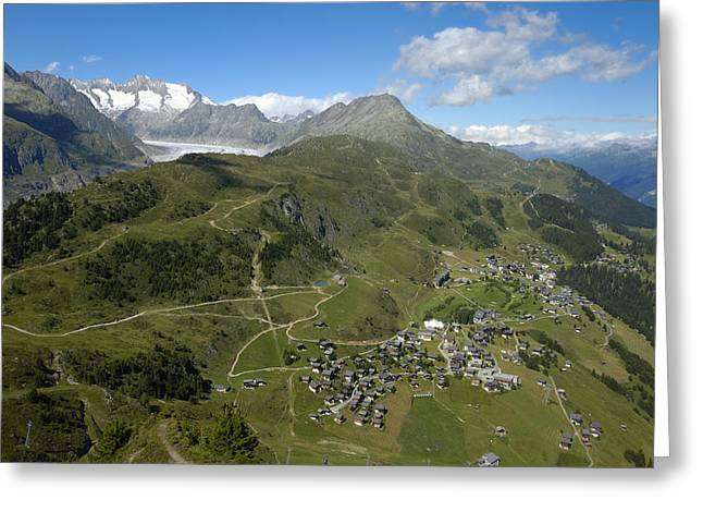Swiss Photographs Greeting Cards - Switzerland Swiss Alps Greeting Card by Matthias Hauser