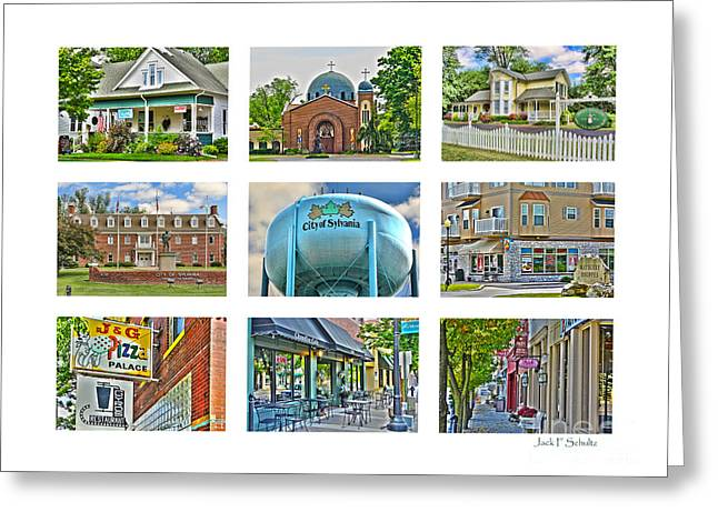 Mayberry Greeting Cards - Sylvania Ohio Greeting Card by Jack Schultz